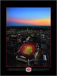 PRANGE Aerial Photography: Game Night Poster - click for more information, and to order