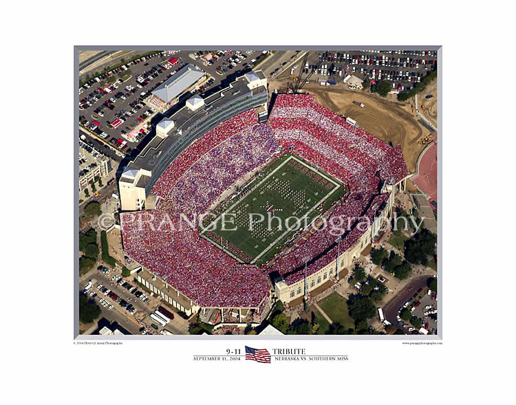 Prange Aerial Photography: Print 9-11 Tribute