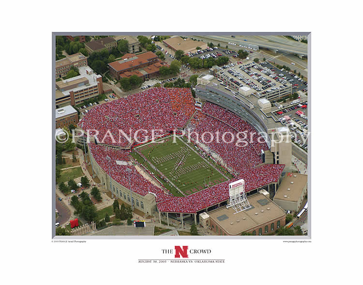 Prange Aerial Photography: Print The N Crowd