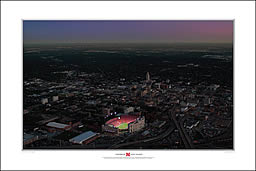 PRANGE Aerial Photography: Saturday Night Lights (center) - click for more information, and to order
