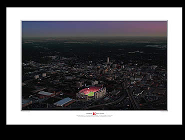 Prange Aerial Photography: Print Saturday Night Lights (Center)