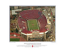 PRANGE Aerial Photography: Wings Over Memorial Stadium - click for more information, and to order