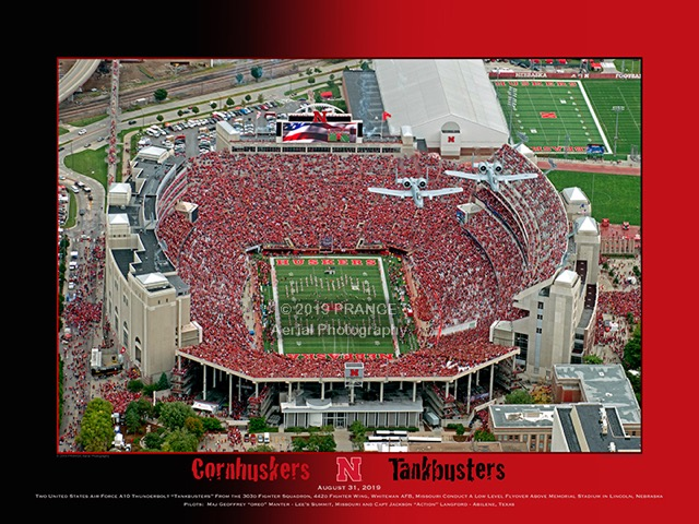 PRANGE Photography and Video: Cornhuskers Tankbusters - click for more information, and to order